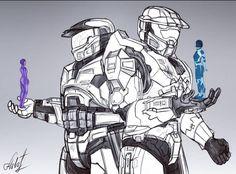 John 117, Godzilla Wallpaper, Halo Game, Red Vs Blue, Metroid, Manga Anime, Character Art, Star Wars, Fan Art