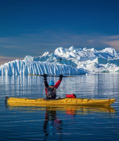 Kayaking in Greenland >> Now here's an adventure you don't get every day!