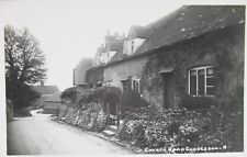 CHURCH ROAD CUDDESDON OXFORDSHIRE EARLY RP PC