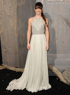 Brides: Taylor Swift, Evangeline Lilly and Lupita Nyong'o in Wedding-Worthy White Dresses
