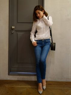 MAISON DE REEFUR 代官山店 | JUNNA SUGITAさんのシャツ・ブラウス「Reefur リネンシャツ」を使ったコーディネート