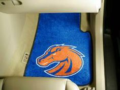 NCAA - Car Mats 2 Piece Front - Boise State University.  Buy it @ ReadyGolf.com