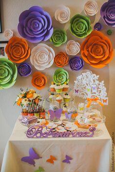 Купить или заказать Декор дня рождения в интернет магазине на Ярмарке Мастеров. С доставкой по России и СНГ. Срок изготовления: 3-5 дней. Материалы: бумага, картон, ленты. Размер: 10*15