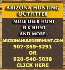 The fall/winter 15 season in AZ is now here.  If you've drawn a rifle permit or an over-the-counter archery tag and need a hunting guide call.  Considering submitting for permit application for the fall/winter 2016 hunting season in AZ,  I can assist you in drawing a permit within a good hunting unit. Personalized hunts in pursuit of  mule deer,  Coues whitetail deer, Rocky Mountain bighorn sheep, desert bighorn sheep, elk, javelina, black bear, mountain lion and predators.