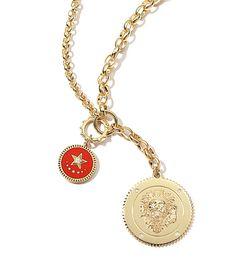 Foundrae collier médaille Strenght Baby