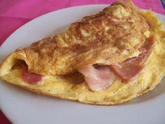 Ομελέτα αλλαντικών - Omeleta allantikon