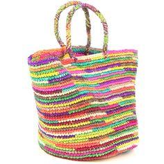 Sensi Studio Maxi Multi-Color Hand Woven Bag...matchesfashion.com