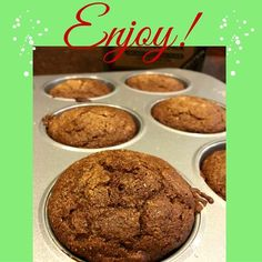 Gingerbread Muffins Recipe with Kodiak Cakes