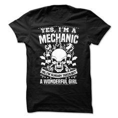 Yes, Im A Mechanic! - #cool hoodies for men #design tshirts. GUARANTEE => https://www.sunfrog.com/Automotive/Yes-Im-A-Mechanic.html?60505