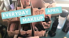 Everyday Makeup Drawer | Shop My Stash April  Watch my latest 30-Something video and see what makeup I'm using this month!