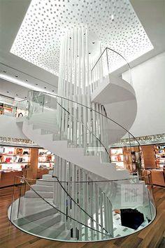 Louis Vuitton Flagship Store, Nagoya, Japan designed by Eric Carlson