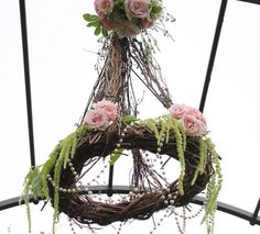 """these would be pretty scrattered around Barn ceiling~Grapevine Chandeliers (25"""" tall x 18"""" width) Natural $19.99"""