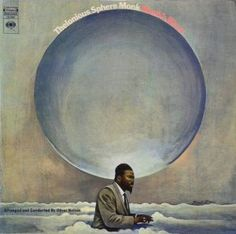 Front cover of Thelonious Monk's final album for Columbia, MONK'S BLUES of 1969.