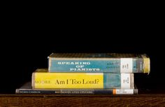 Sorted Books by Nina Katchadourian.