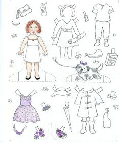 Learn how to make paper dolls all your own! Creating custom characters and clothing is easy and fun.
