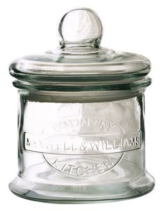 Maxwell & Williams   Country Kitchen Glass Barrel 700ml Gift Boxed   Myer Online Glass Canisters, Glass Jars, Glass Kitchen, Country Kitchen, Barrel, Bobs, Gifts, Home Decor, Collection