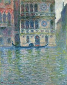 Palazzo Dario 4 - Claude Monet