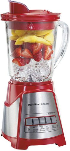 Hamilton Beach Wave Crusher Glass Jar Blender