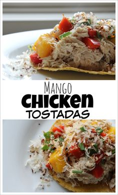 Mango Chicken Tostadas