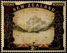 New Zealand, Places To Go, Stamps, 1, Artists, Decor, Art, Seals, Decoration