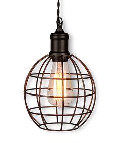 Sder pendant lamp ikea enlightening luv pinterest ikea rustic cage hanging lamp by lone elm studios aloadofball Gallery