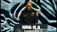 """Sheriff David A Clarke Jr NRA-ILA Leadership Forum FULL SPEECH                                                                      May I quote Mark Levin and say, """"That, my friend, is a true American""""!"""