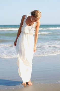 White Maxi Dress   Life with Emily