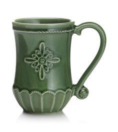 Juliska - Jardins Du Monde Garden Green Mug