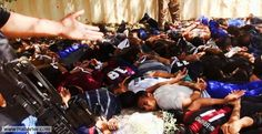 In a new video purportedly released by the Islamic State, mass genocide is shown as ISIS militants round up and murder hundreds of Shia Muslim near Baghdad. Heavy ISIS alleges to have filmed the g… Boko Haram, Al Qaeda, Baghdad, Social Media Influencer, The Godfather, Amelie, Human Rights, Politics, Graphics