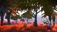 Oasis I tranquil grove. Find the portal coordinates on our Twitter page, StellarTech_NMS