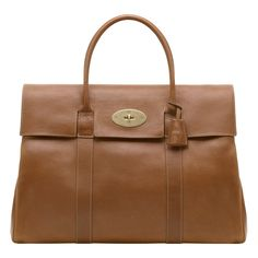 Mulberry Piccadilly Oak. Oak Natural Leather Holdall Postman s Lock closure  Hidden padlock in hanging leather 1ee4f8fc777cf