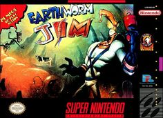 Earthworm Jim - SNES