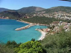 a view of our lıvely harbor and the public beach