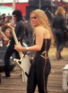 "turbanaroo: "" ""The Runaways at Woodland Festival in Belgium, 1978."" """