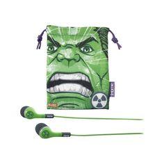 eKids - In-Ear Headphones - Green/Gray, 092298913919