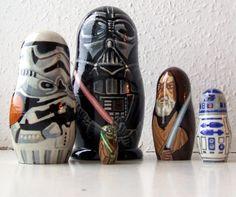 Star Wars Matryoshka dolls!