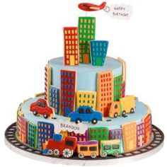 Say Happy Birthday with a Key to the City Cake.