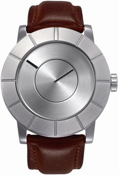 Issey Miyake TO Automatic Watch - Brown leather