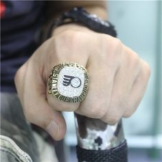 Custom 1975 Philadelphia Flyers Stanley Cup Championship Ring