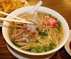 Soupe au Ramen (recette coréenne) - The Best Korean Recipes Korean Food, Chinese Food, Chickpea Recipes, Healthy Recipes, Soup Recipes, Cooking Recipes, Ramen Soup, Ramen Noodle, Salmon And Rice