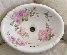 A personal favorite from my Etsy shop https://www.etsy.com/listing/515104246/hand-painted-porcelain-sink