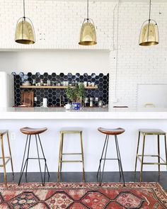 """witanddelight: """"Mix n match! @cb2 and @fromthesource stools. """""""