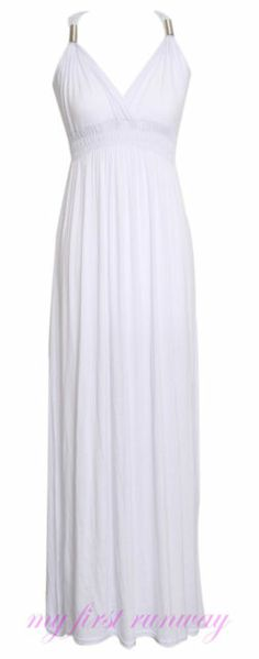 NEW LADIES WOMENS SLEEVELESS LONG JERSEY STRETCH COIL SPRING MAXI DRESS SIZE 814 | eBay 10€
