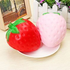 Sincere 10s-15s Cream Cake Mango Rosy Kids New Year Toy Gift Anti Stress Phone Strap Kawaii Strawberry Cake Squishy Slow Rising Mobile Phone Straps
