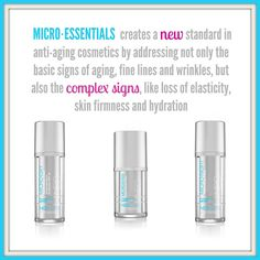 We are thrilled to launch the MICRO∙ESSENTIALS skin care line! MPC technology is the newest generation of skin rejuvenating proteins to help enhance and support collagen, elastin and hyaluronic acid, the key components to skin's youthful appearance.