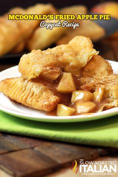 Visions of McDonald's RETRO Fried Apple Pies have been dancing in my head.  Remember those from the 80's? Crisp flaky, heavenly pie crust oozing with thick apple pie filling and tender chunks of spiced apple.