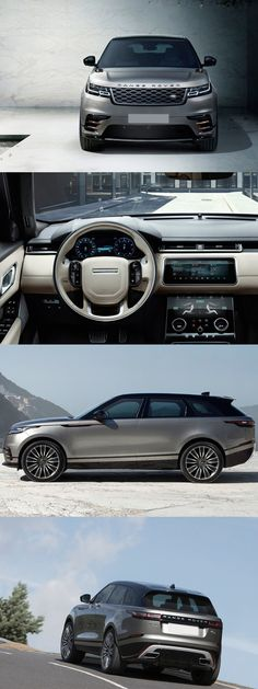 New Cars Range Rover Velar Ideas Range Rover Sport 2014, Range Rover Evoque, Jaguar Land Rover, Range Rover Classic, Bugatti Veyron Gold, Matte Black Range Rover, Pink Range Rovers, Minibus, Automobile
