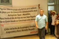 ESCUCHAN A EJIDATARIOS AFECTADOS POR LA TEPIC-MAZATLÁN, PERO SIN RESOLVER EL PAGO DE PREDIOS