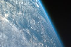 This is how thin our atmosphere actually is. | 17 Space Pictures That Will Actually Make You Think