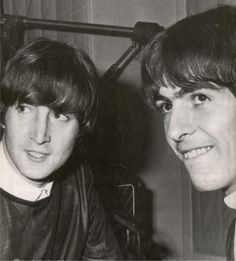 John & George | via Beatle Love ~ Cityhaüs Design